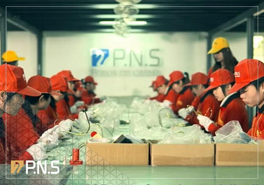 افتتاح کارخانه چین